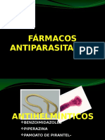 farmacos antiparasitarios