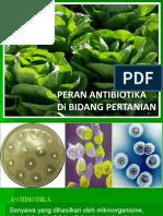 peran antibiotik di dunia pertanian