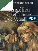 Angelica en El Camino de Versalles