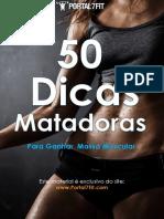 50 Dicas Matadoras Para Ganhar Massa Muscular 1.0