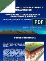 Expos.consecion Minera Para La Una