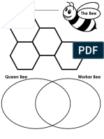 The Bee Graphic Organizer