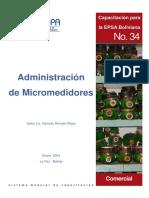 Administracion de Micromedidores