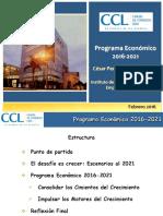 Presentación Ccl 2016-2021