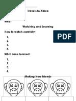 Chimp Graphic Organizer