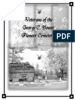 Veterans of the GCY Cemetery