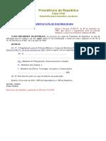 Decreto Nº 8778
