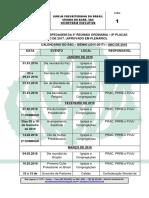 Calendário Bienal Do Sínodo Do Acre - Sac - Biênio 2015-2017 (Ano 2016 - Retificado Em 15.12.2015)