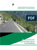 Safer Roads Investment Plans the Irap Methodology Español