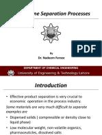 Membrane Separation Process