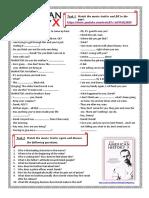 steve jobs speech worksheet