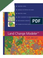 Land Change Modeler ArcGIS Software Brochure
