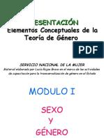 Capacitacion en Genero Modulo I