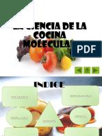 La Ciencia de La Cocina Molecular