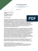Senator Lankford Letter to Secretary King on OCR Transgender Guidance 5 17 16