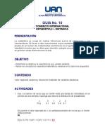 Estadistica - Guia 10 - Desarrollada.