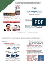 Dkr Tecnologies -Servicios - Folleto