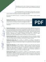 Acuerdo Consejo de Presidentes, año 2015.