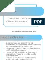 Economics and Justification of EC