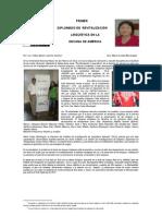 I Diplomado de  Revitalización Lingüística y Cultural