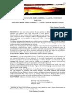 Diálogo Com a Casa de Maria Gabriela Llansol Um Ensaio Poético - Publicado Na Revista Travessias