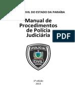 Manual de Procedimentos - 2013 - 1ª Edição