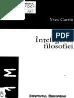 Yves Cattin - Intelegerea Filosofiei