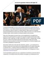 Muere Pierre Boulez - EL PAÍS