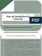 Plan de Rehabilitación Comunal - 1