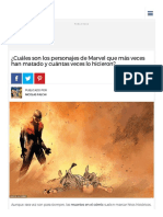 ¿Cuáles son los personajes de Marvel que más veces han matado y cuántas veces lo hicieron_ - Batanga.pdf