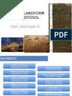 histosol dan sebaran analisis lanskapnya