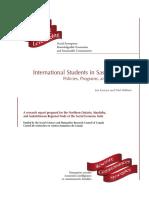 International Students in SK