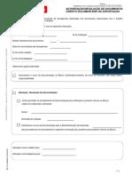 741-993-BST-IE-50006936 Autorização Devolução de Documentos Crédito Documentário de Exportação