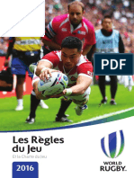 World Rugby Laws 2016 FR
