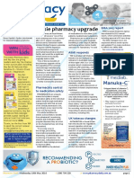 Pharmacy Daily for Wed 18 May 2016 - Tassie pharmacy upgrade, Pharmacists central to medication safety, ASMI responds to 4 Corners, Health AMPERSAND Beauty and much more