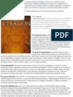 ¿Qué Nos Enseñan Las Siete Leyes Universales Contenidas en El Kybalion_ _ Autoayuda