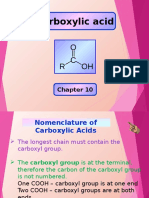 Carboxylic Acid & Ester