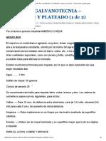 Como Hacer GALVANOTECNIA – NIQUELADO Y PLATEADO (1 de 2) _ Como Hacer - Instrucciones y Planos Gratis