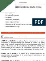 4. Parámetros de La Cuenca