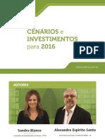 eBook Orama Cenarios e Investimentos Para 2016