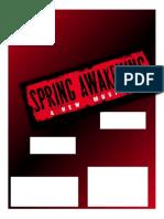 Despertar en Primavera 2015 Con Letras Adaptadas