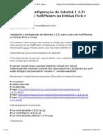 Instalação e Configuração Do Asterisk 1.4.21 Para o Uso Com SoftPhones No Debian Etch e Lenny