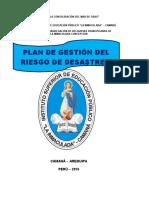 Plan de Gestión Del Riesgo y Desastres Isep Li 2016
