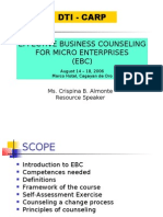 Effective Business Counselling For Microenterprises