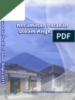 Kecamatan Parakan Dalam Angka 2015