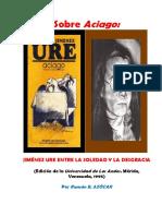 Ramón e. Azócar a.sobre El Poemario Aciago