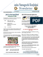 May 17, 2016 - 2nd Qtr NYK Newsletter - Vol. V Issue 2