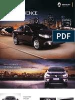 Renault FLUENCE 2016 - Catálogo 07 2015