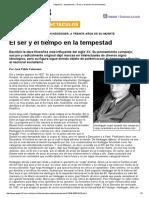 Página_12 __ Espectaculos __ El Ser y El Tiempo en La Tempestad