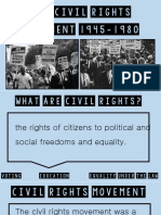 civil rights and equal rights movement